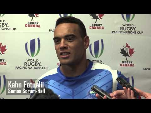 Post Game Reaction - Fiji vs. Samoa - Pacific Nations Cup