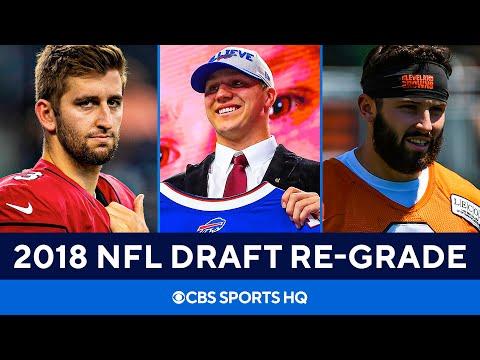 2018 NFL Draft Re-Grade: Analyzing full team hauls 3 years later | CBS Sports HQ