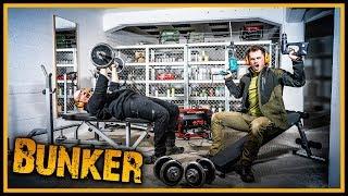 Der Prepper Bunker [S01/E05] - Krasser Lagerraum und Gym im Bunker - Survival Krisenvorsorge
