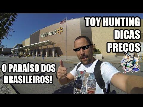 O Paraíso Dos Brasileiros: Walmart Supercenter - Veja O Preço Dos Brinquedos! Toy Hunting 2016