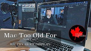 Can't Get SideCar To Work on Mac OSX Catalina?  Try Duet Display