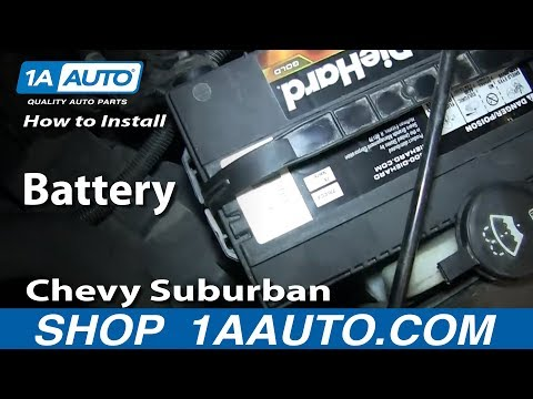 Yukon Xl Vs Suburban >> 2006 Chevy Silverado Won't Start After Battery Change | Doovi
