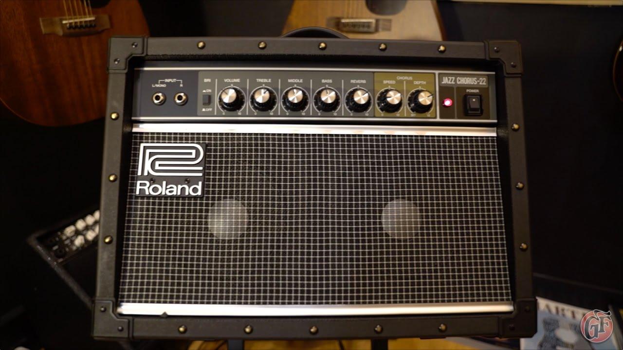 Roland JC-22 Jazz Chorus Amplifier Demo
