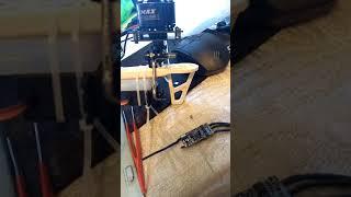 трикоптер на базе рамы f550 от гексакоптера + шарнирное соединение своими руками