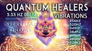 QUANTUM HEALERS SPIRITUAL DRUMS JOURNEY ✴FULL CHAKRA HEALING MEDITATION✴ POWERFUL CHAKRA BALANCING