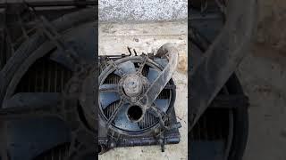 Хюндай акцент . замена радиатора и термостата