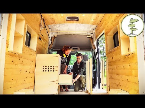 Building The Ultimate Camper Van As A Tiny Home & Office On Wheels
