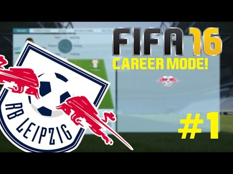 FIFA 16 | Career Mode - RB Leipzig #1 - The Journey Begins!