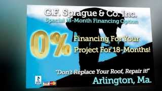 Arlington Roofing Expert | 40yr Warranty | Call 781-455-0556 | Roof Repair | Roofing Contractor