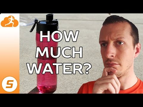 Overhydration when working out how much water should you drink?