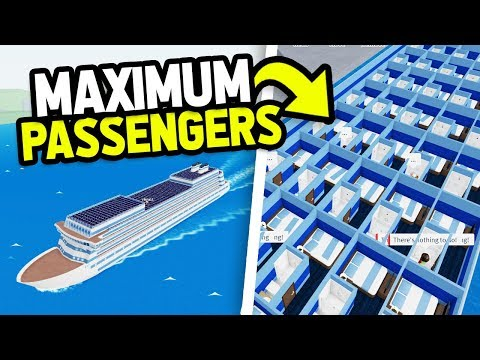 I Got MAXIMUM Passengers.. And Made MILLIONS Easy (Roblox Cruise Ship Tycoon)