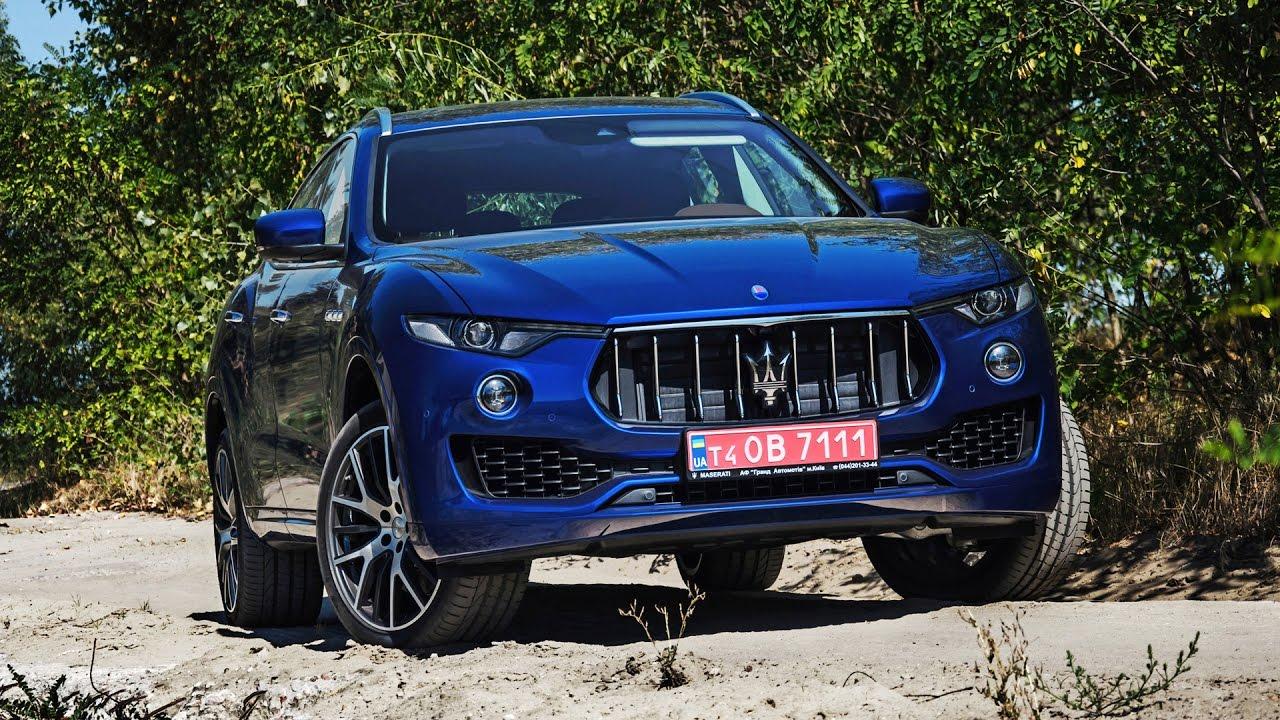 Обзор первого внедорожника Maserati Levante S в Украине
