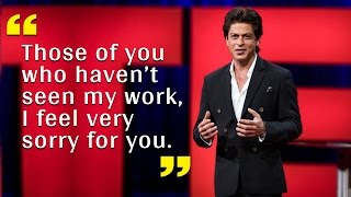 7 Gems of Wisdom From Shahrukh Khan's First TED TALK | SpotboyE