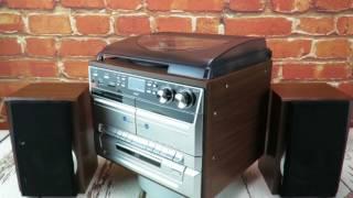 soundmaster MCD5500 HiFi System FM / DAB Radio CD / Twin Cassette Record Player Turntable