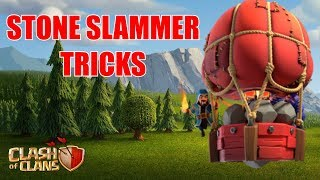 Cheeky Stone Slammer Uses | Clash of Clans