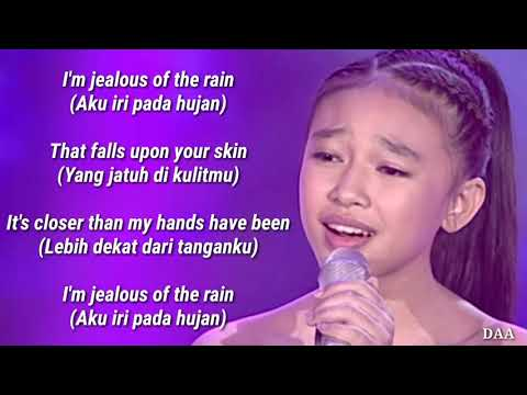 Lirik Terjemahan | ANNETH - JEALOUS (LABIRINTH) - TOP 7 - INDONESIAN IDOL JUNIOR 2018