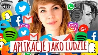 Aplikacje jako ludzie  Olsikowa rysuje #50