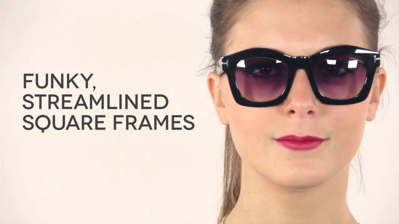 f817e849dea5 Tom Ford FT0431 GRETA Sunglasses Review | VisionDirectAU - YouTube