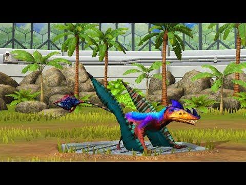 Jurassic World Game Mobile #41: Chim Legendary bất bại EUDIMORPHODON