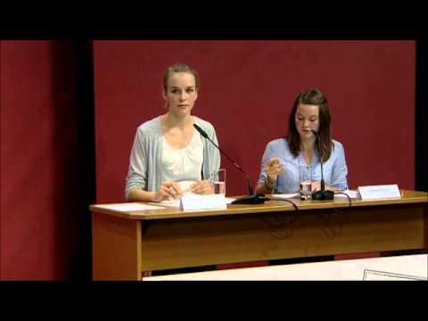 Jugend debattiert Bundesfinale 2011: Debatte 1: Das Thema: Soll der Videobeweis bei Fußballweltmeisterschaften eingeführt werden? Es debattierten die Finalisten der Altersgruppe 1.