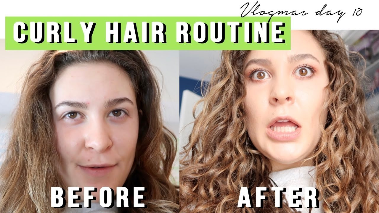 Curly Hair Transformation With Devacurl Vlogmas Day 10