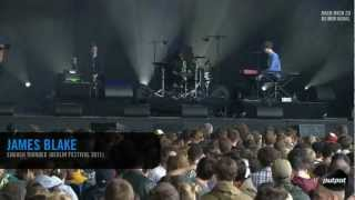 James Blake - Enough Thunder (Live at Berlin Festival 2011)