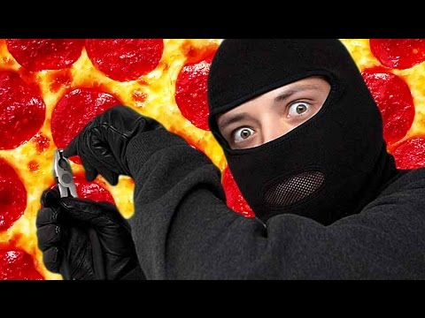"""I""""M ON THE PIZZA! 
