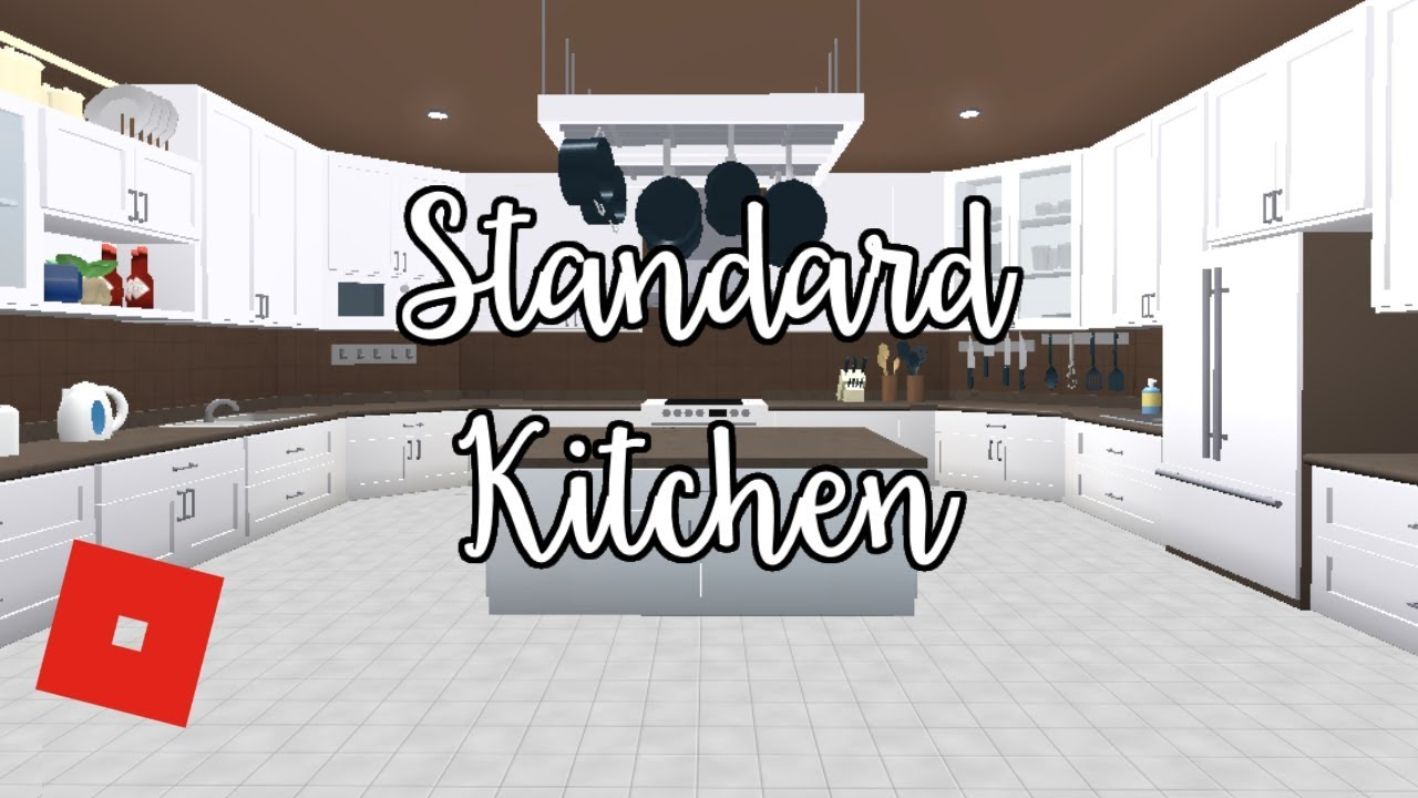 Welcome to bloxburg standard kitchen speed build doovi for Kitchen designs bloxburg