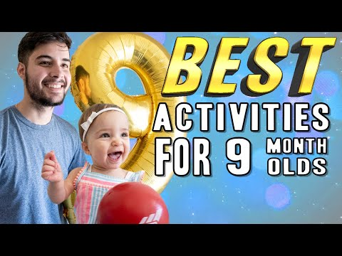 BEST Activities for 9 Month Old Baby | Bailey's Dad