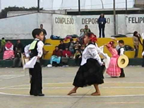 Fabian Zegarra Y Nicolle Niños Bailando Marinera Chancay 2009