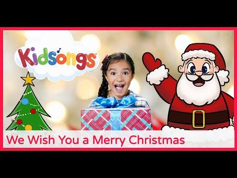 We Wish You a Merry Christmas  Santa Songs  Kids Christmas Songs  Rudolph  Kidsongs PBS Kids