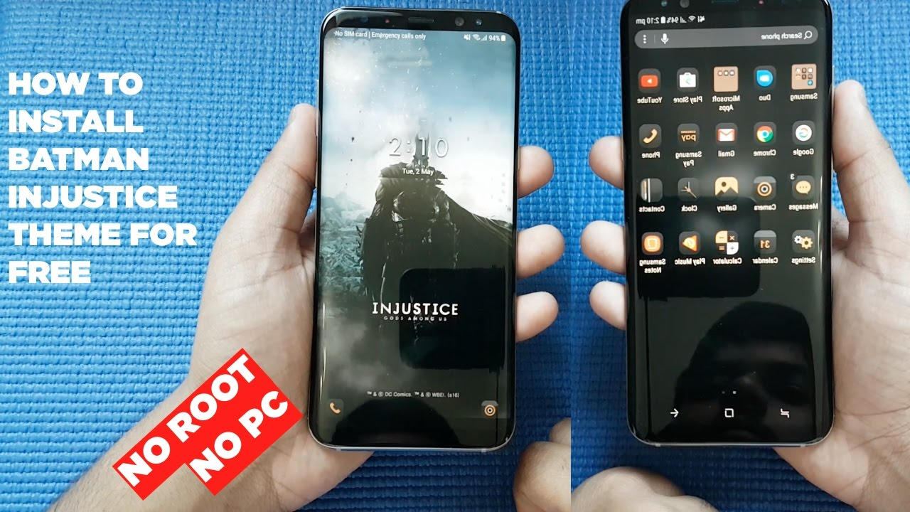 Download Batman Injustice Theme For Samsung Galaxy S8 Galaxy S9 Youtube