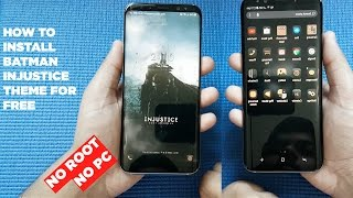 Download Batman Injustice Theme For Samsung Galaxy S8, S8 Plus