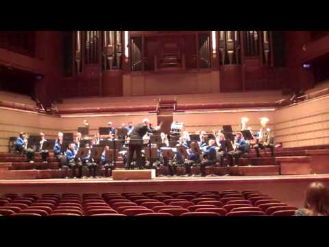 Eden HS Band Performing at Morton H Meyerson Hall in Dallas, Texas