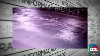 Câmera flagra homem matando catador de latinhas a pauladas