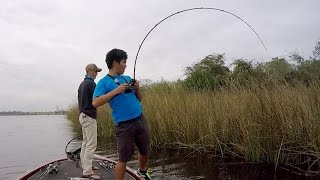 my rod s gonna snap fishing heavy cover in texas ft lakeforkguy