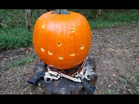 [Hickok45] Cowboy Pumpkin Carving