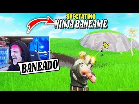 Otro Vídeo De: 5 Veces Que NINJA BANEO A Personas En Fortnite!