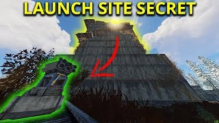 LOOTING LAUNCH SITE WITHOUT KEYCARDS USING A MINICOPTER - Rust Solo Survival Gameplay