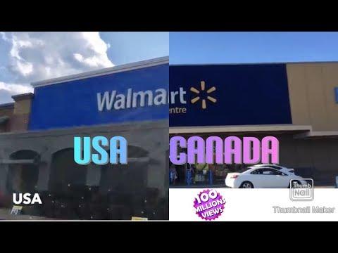 CANADA (ONTARIO) VS USA WALMART!