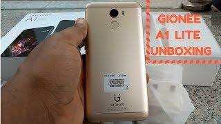 Gionee A1 Lite Unboxing and First Impressions + GIVEAWAY