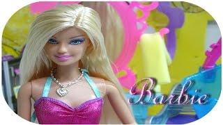 Barbie  Kuaför Salonu oyun seti -  Barbie oyuncak videoları