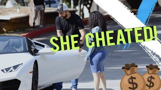 CHEATER GOLD DIGGER Caught by Boyfriend! 😱💥 THEY FIGHT!