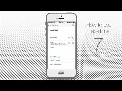 How to Use Video Chat Facetime on iPhone and iPad