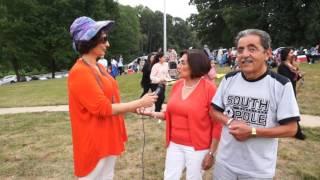مصاحبه جالب با ذکیه جان و شوهر گرامی شان. در امریکا