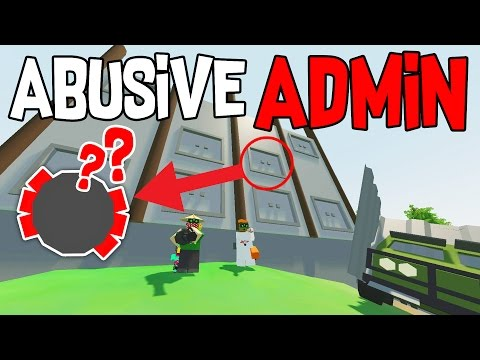 MK2 DRUM?! ABUSIVE ADMIN VANILLA BASE RAID | Unturned Vanilla Base Raid