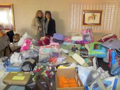 Blanket Swap Benefits Serbian Orphans