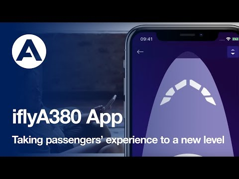 Airbus launches iflyA380 iOS app taking passengers experience to a new level