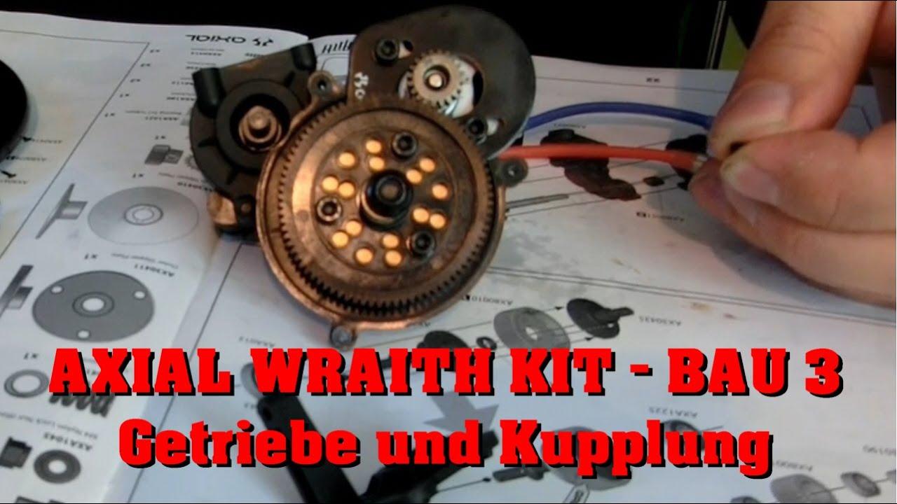 Axial Wraith Kit - Bau Teil 3 - Getriebe und Kupplung - Darconizer ...