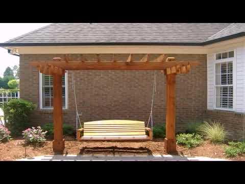 Free Wood Patio Swing Plans (see description) (see description)